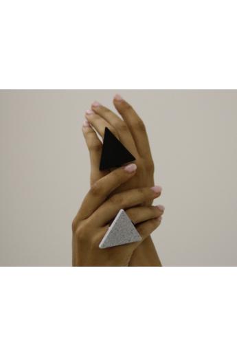 MIKO: Weiko No. 3 szürke gyűrű