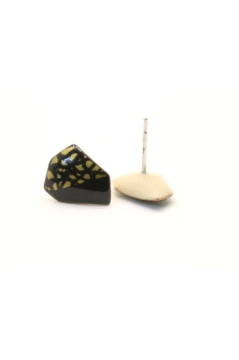 AME Creation: Sokszög n1 / kicsi tűzzománc fülbevaló