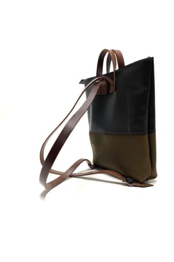 Bőrke: Jackye - bőr hátizsák