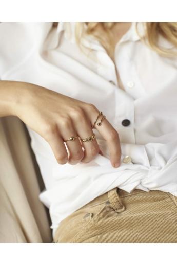 Babushka: Berry gyűrű / aranyozott
