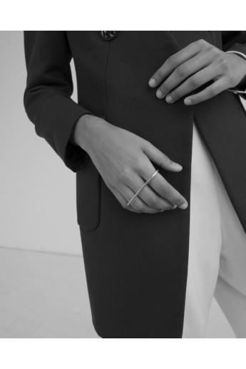 Babushka: Linea long gyűrű / aranyozott