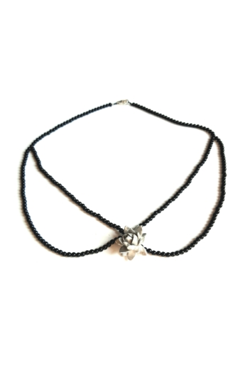 Besnyői Rita: Sentimental ónix gallér nyakék