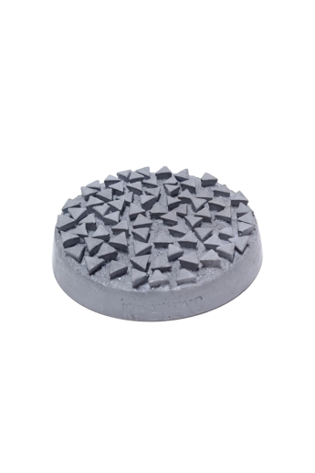 Kredenc: Beton texturált szappantartó - világos