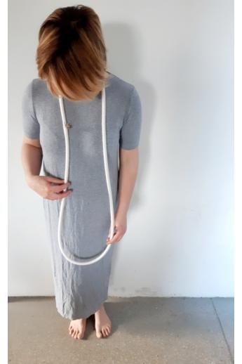 Besnyői Rita: Wonderhunter hosszú selyem nyakék