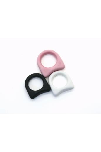Botos Balázs: Simple Ring White gyűrű