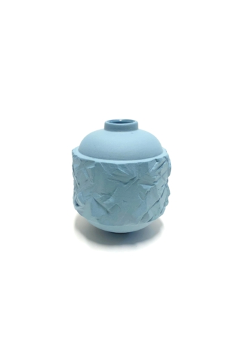 Botos Balázs: Rocky Vase Mini / szürkéskék váza