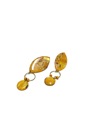 """COTA: Duplacsepp """"Klimt"""" fülbevaló"""