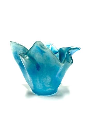 Deák Design: Balaton üveg tál No1