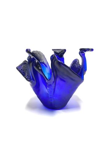 Deák Design: Balaton üveg tál No2