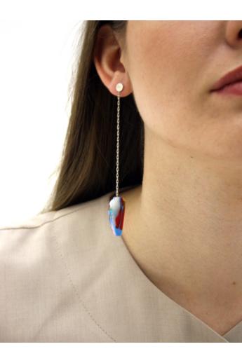 Borbala Design: Láncos fülbevaló n1