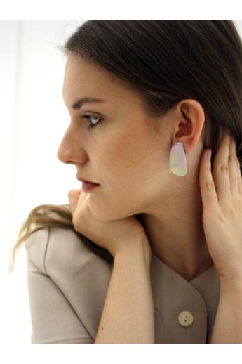 Borbala Design: Mini fülbevaló / rózsaszín