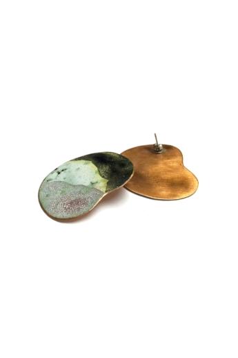 Héria Enamel: Stone Mind fülbevaló n1
