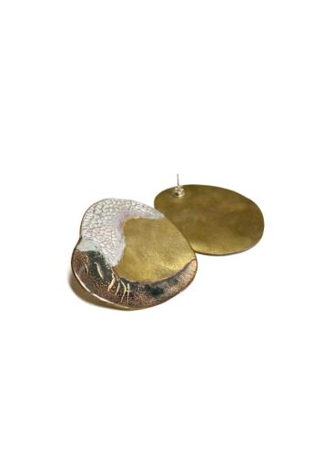 Héria Enamel: Stone Mind fülbevaló n3