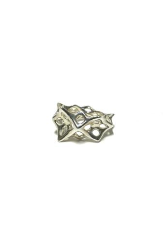 Balázs Kiss: Parametric ring no.2 / Ezüst gyűrű