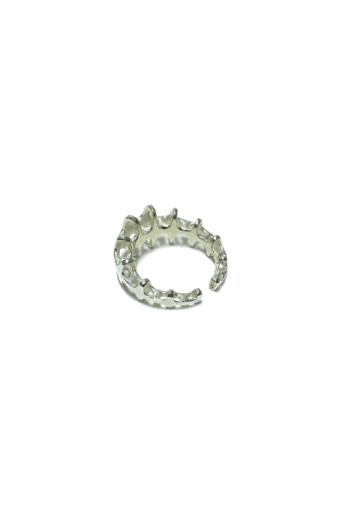 Balázs Kiss: Parametric ring no.3 / Ezüst gyűrű