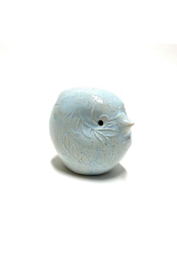 Kiss Gabi: Égkék madár - kerámia dísztárgy