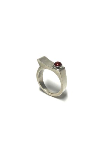 Krizokolla: Egyensúly ezüst gyűrű No2