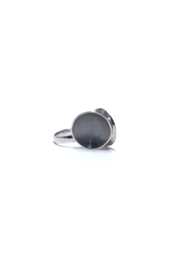 László Katalin:  Duplakör ezüst gyűrű