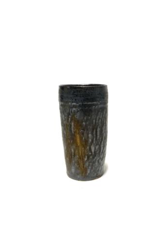 Márta Nóra: Fémes csőváza n2 / magasság 15cm, ø 8cm