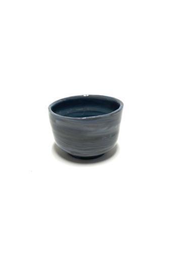 Márta Nóra: Porcelán kávéscsésze n4 / magasság 6cm, ø 6cm