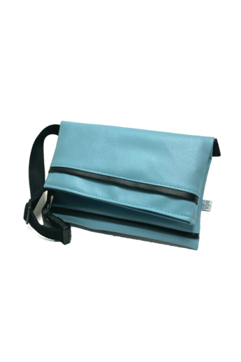 MADO: Textilbőr övtáska / kék