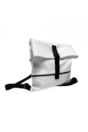 MADO: Square bag / Fehér - fekete csíkkal