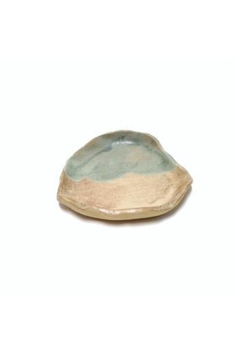 Marék Műhely: Rorschach kicsi kerámia tányér n3 / ø17cm