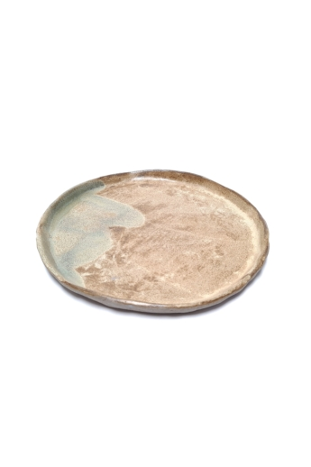 Marék Műhely: Rorschach nagy kerámia tányér n6 / ø24cm
