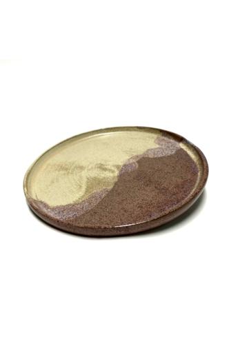 Marék Műhely: Rorschach nagy kerámia tányér n5 / ø24cm