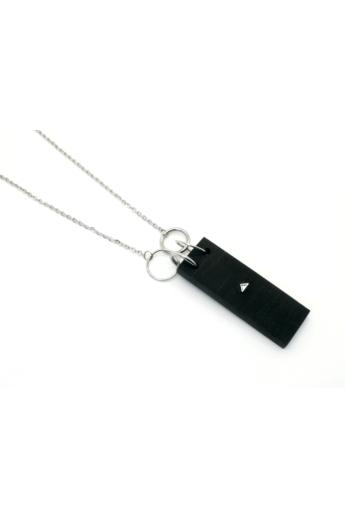 MIKO: Weiko No. 2 fekete nyaklánc
