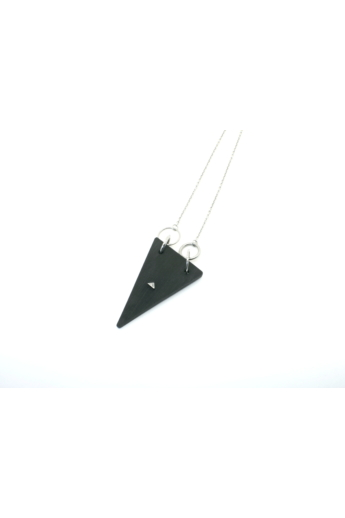 MIKO: Weiko No. 3 fekete nyaklánc