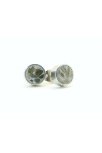 New Accent: Beton fülbevaló / szürke