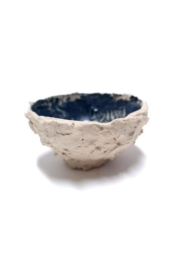 OHO CERAMICS: HIBIKI fehér-kék csésze