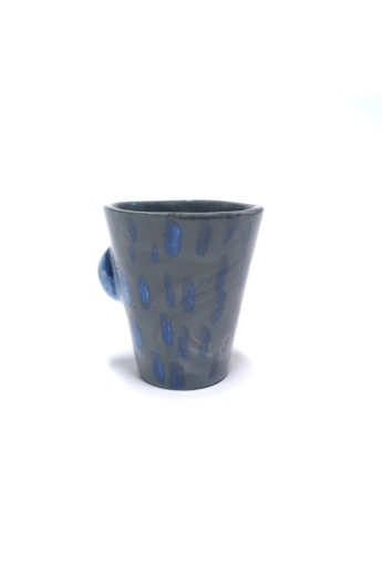 OHO CERAMICS: Porcelán V csésze dudorral