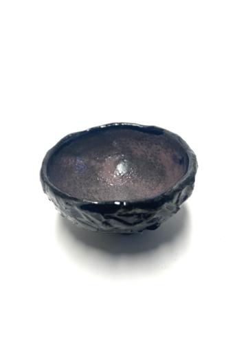 OHO CERAMICS: HIBIKI fekete csésze