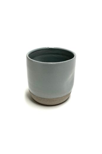 Pastel Ceramics:  Kék nyomott bögre / magasság 7cm, ø 8cm