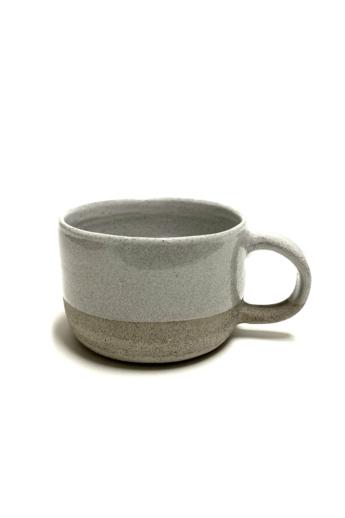 Pastel Ceramics:  Világos teás bögre n1 / magasság 7cm, ø 10cm