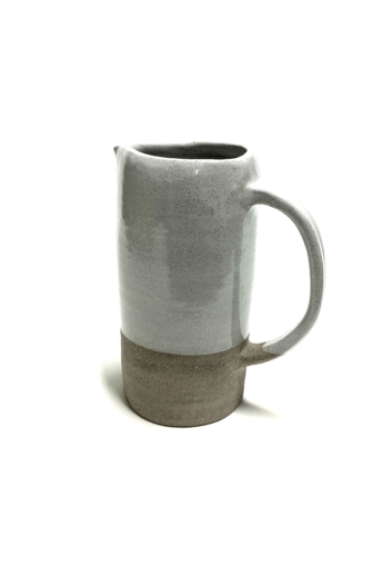 Pastel Ceramics:  Szürke kancsó / magasság 18cm, ø 8cm