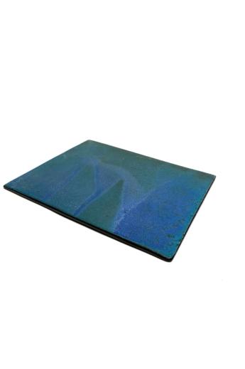 Pastel Ceramics:  Kék kerámia tálaló / 23x18cm