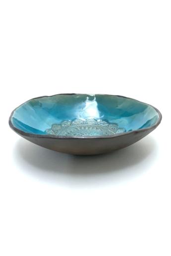 Pastel Ceramics: Csipkés salátástál / ø20cm