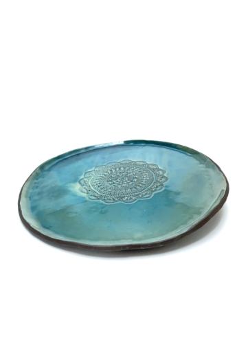 Pastel Ceramics: Mintás lapostál / ø34cm