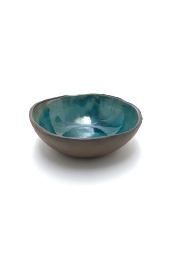 Pastel Ceramics:  Kék müzlis tál / ø15cm