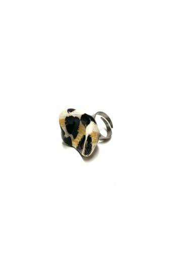 Pebble: Kerámia gyűrű N.10