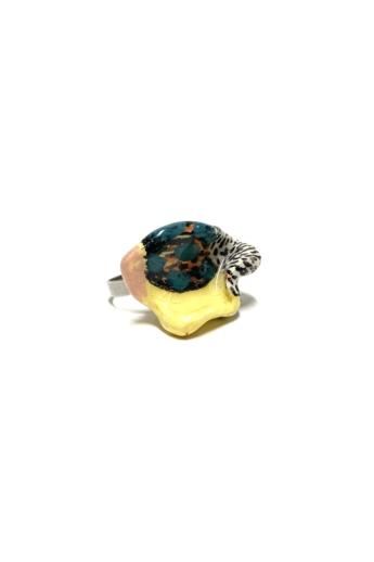 Pebble: Kerámia gyűrű N.8