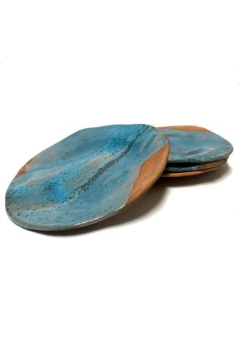 Rasa Ceramicart: Duna tányérkészlet - 4db / ø24cm