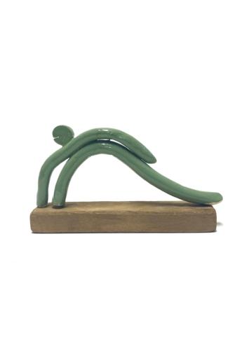Strasser Brigitta: Zöld figura