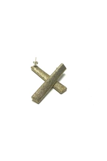TIA Design: Pálca fülbevaló - arany