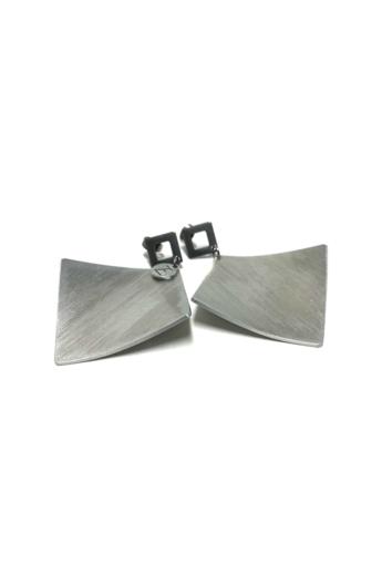 Zemse: Wawes alumínium fülbevaló N2