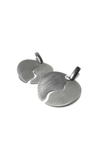 Zemse: Wawes alumínium fülbevaló N4
