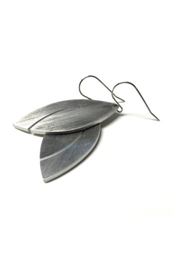 Zemse: Alumínium fülbevaló N6